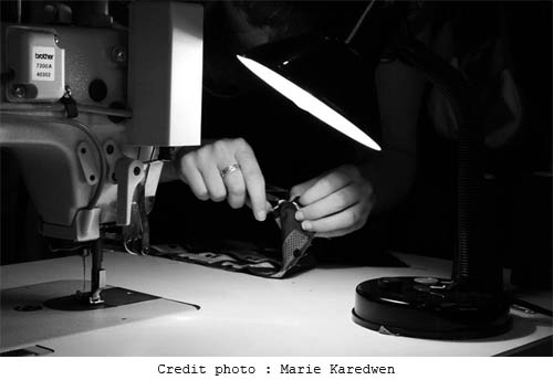 photo de l'atelier par Marie Karedwen - Photographe